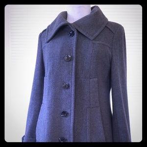 Wool Coat, Marc NY size 4